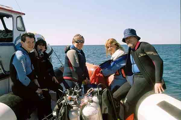 Grupo embarcado
